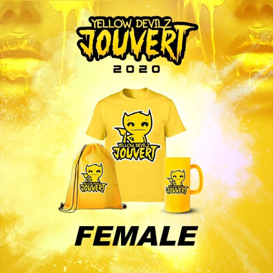 Yellow Devilz Female Costume